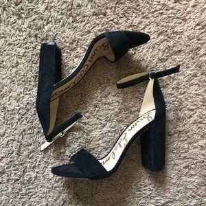 Sam Edelman Faux Suede Heeled Sandals